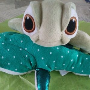 "Ty Finding Dory ""Squirt"" plush turtle"
